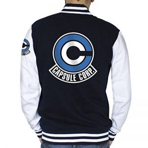 ABYstyle Dragon Ball Teddy Capsule Corp Homme Navy/White de la marque ABYstyle image 0 produit