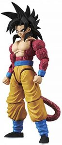 Bandai Figure-Rise Dragon Ball Z Super Saiyan 4 Goku Model Kit, 4549660144977, Multicolore de la marque Bandai image 0 produit