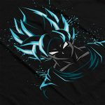 Cloud City 7 Dragon Ball Z Goku Blue Men's T-Shirt de la marque Cloud City 7 image 4 produit