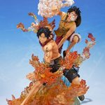 Figurine - One Piece Zero - Monkey D.Luffy Brother Bond 19 cm de la marque Bandai image 4 produit