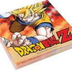 Party Store Web by Casa Dolce Casa Kit de table n° 4 Dragon Ball Z Goku pour décorations, fête (32 assiettes, 32 gobelets, 40 serviettes, 1 nappe, 1 aimant offert) de la marque Party Store web by casa dolce casa image 3 produit