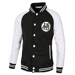 PIZZ ANNU Dragon Ball WU Word Baseball Uniform Jacket de la marque PIZZ ANNU image 0 produit