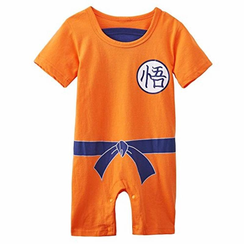 Body B/éb/é Manches Longues Parent Dragon Ball Super /™ Licence Officielle Baby Geek Petit Gourmand Boo
